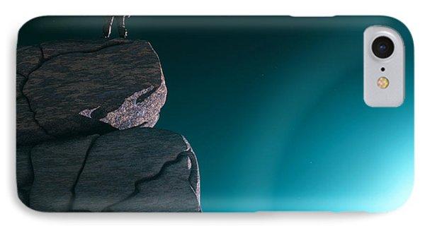 IPhone Case featuring the digital art The Explorer... by Tim Fillingim