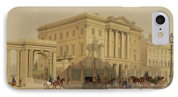 The Exterior Of Apsley House, 1853 IPhone 7 Case by English School