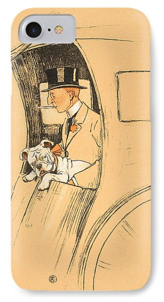 The Extra Passenger Phone Case by Cecil Charles Windsor Aldin