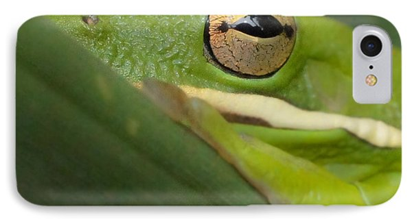 IPhone Case featuring the photograph The Eye Has It Squared by TK Goforth