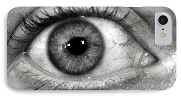 The Eye Phone Case by Luke Moore