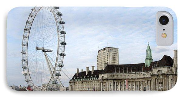 London Eye iPhone 7 Case - The Eye by Mike McGlothlen