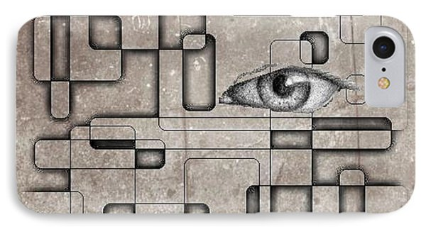 The Eye Of Big Brother Phone Case by John Malone