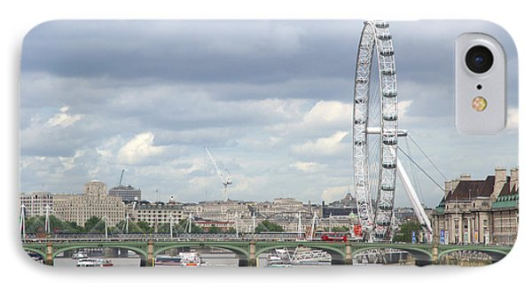 IPhone Case featuring the photograph The Eye Of London by Keith Armstrong