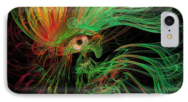 The Eye Of The Medusa Phone Case by Angela A Stanton