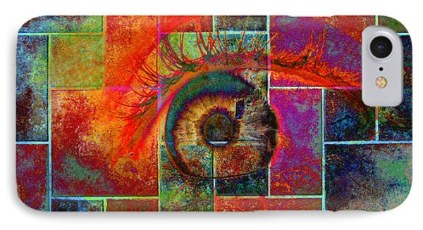 The Eye IPhone Case by Ron Harpham