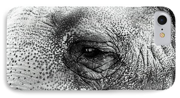 The Eye That Never Forgets Phone Case by John Rizzuto