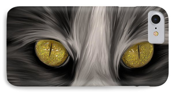 The Eyes Have It Phone Case by Angela A Stanton