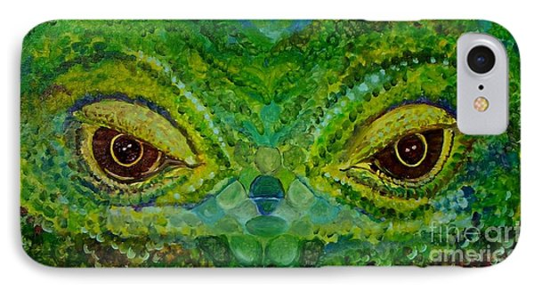The Eyes Have It Phone Case by Julie Brugh Riffey