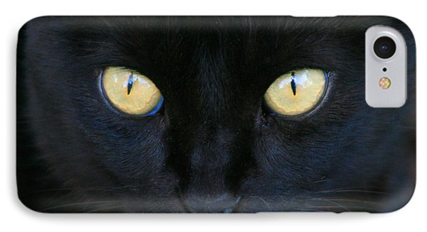 The Eyes Have It IPhone Case by Mariarosa Rockefeller