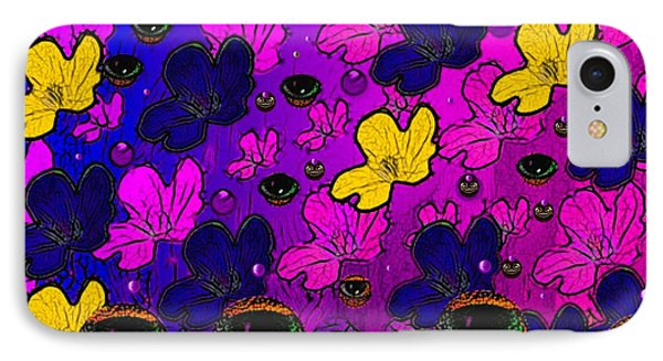 The Eyes Of Mother Nature Serve And Protect Phone Case by Pepita Selles