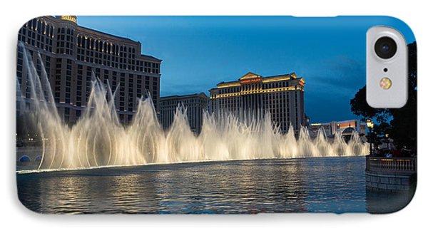 The Fabulous Fountains At Bellagio - Las Vegas IPhone Case