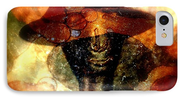 IPhone Case featuring the photograph The Face Behind The Mask by Irma BACKELANT GALLERIES