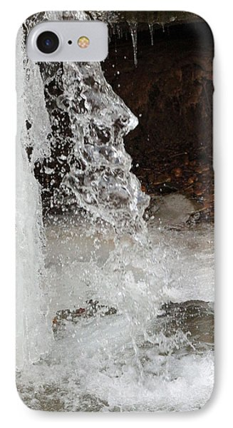 IPhone Case featuring the digital art The Face Of Winter by Lorna Rogers Photography