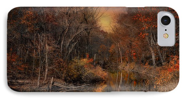 The Fading Glow Of Fall IPhone Case