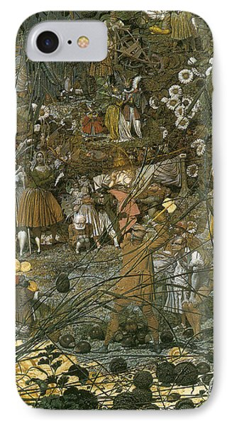 The Fairy Feller Master Stroke IPhone Case by Richard Dadd