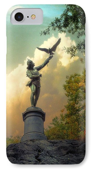 IPhone Case featuring the photograph The Falconer by John Rivera