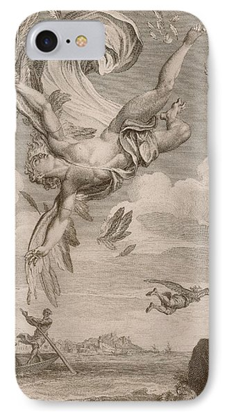 The Fall Of Icarus, 1731 IPhone Case