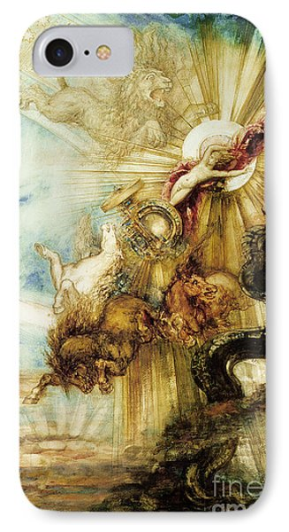 The Fall Of Phaethon IPhone Case by Gustave Moreau