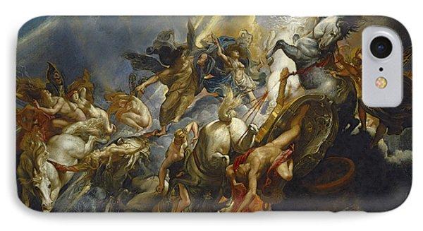 The Fall Of Phaeton Phone Case by  Peter Paul Rubens