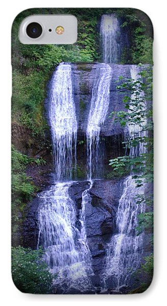 IPhone Case featuring the photograph The Falls by Amanda Eberly-Kudamik