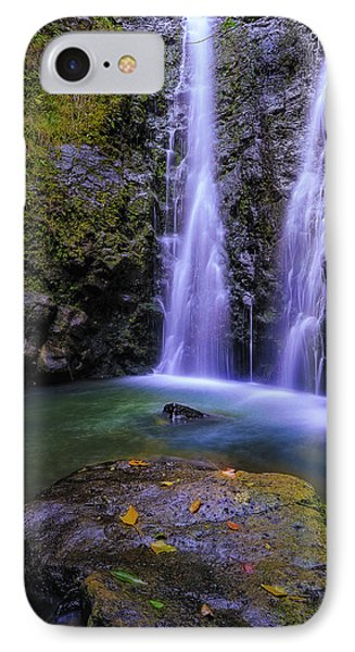 The Falls At Makamakaole IPhone Case