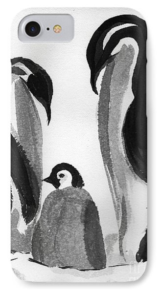 Happy Feet -the Family Of Penguins IPhone Case