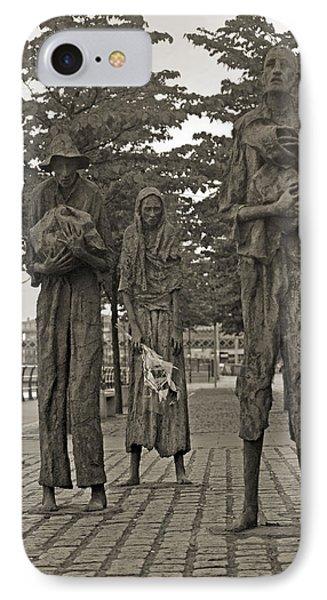The Famine Dublin Ireland IPhone Case by Betsy Knapp