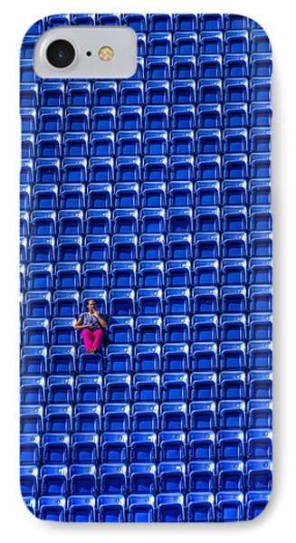 The Fan IPhone Case by Rafael Quirindongo