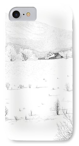 The Farm IPhone Case by Carl Genovese