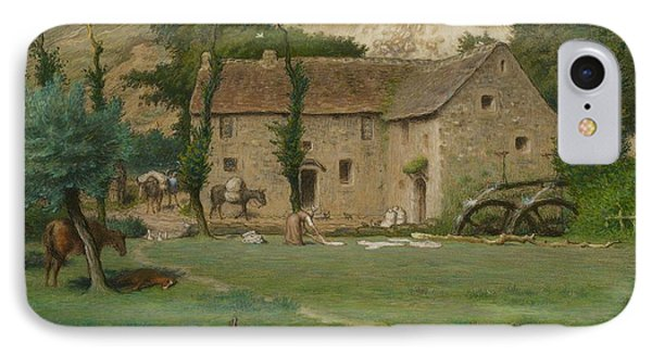 The Farm House Phone Case by Jean Francois Millet