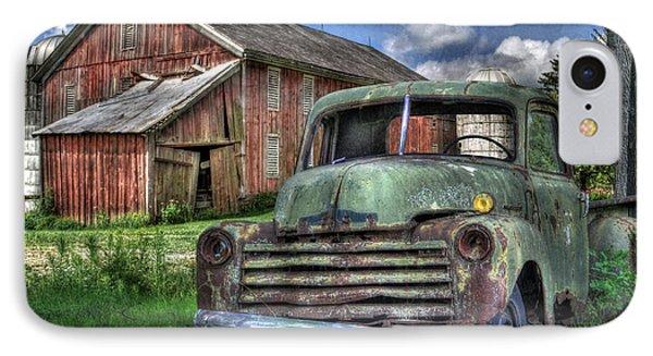 The Farm Truck Phone Case by Lori Deiter