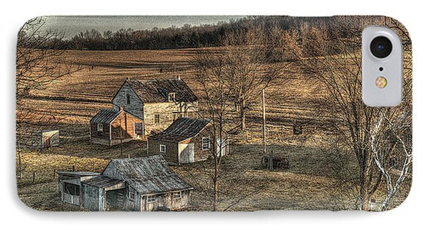 The Farmer In The Dell IPhone Case by William Fields