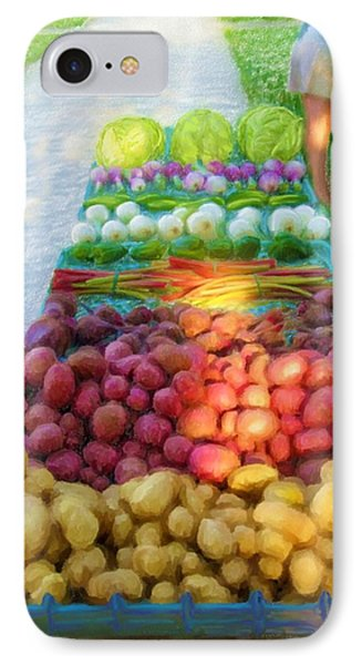 The Farmers' Market IPhone Case by Ric Darrell