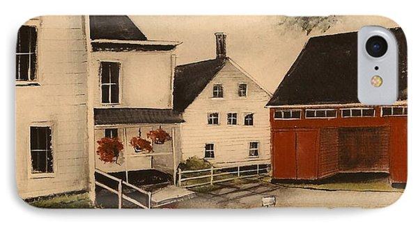 The Farmhouse IPhone Case