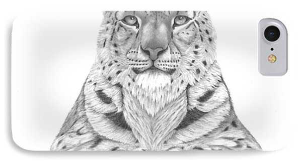 The Fearless Tiger IPhone Case by Patricia Hiltz