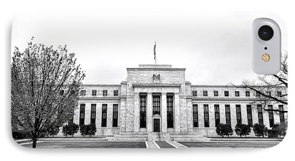 The Federal Reserve  IPhone Case by Olivier Le Queinec