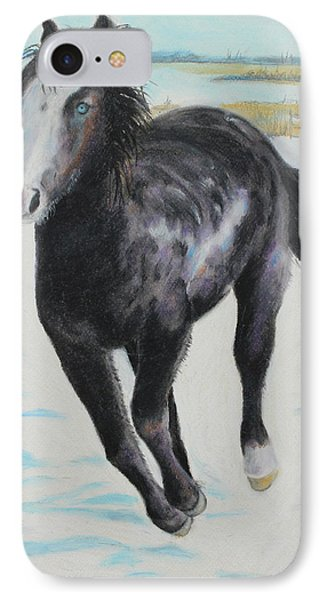 IPhone Case featuring the painting The Feel Of The Cool Air by Jeanne Fischer