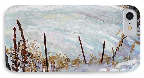 The Fence Line Phone Case by Phil Chadwick