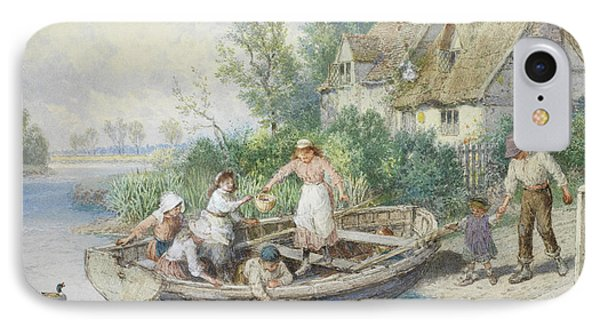 The Ferry Phone Case by Myles Birket Foster