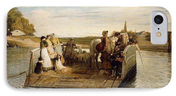 The Ferry Phone Case by Robert Walker Macbeth