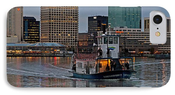 The Ferry To Portsmouth IPhone Case by Jerry Gammon