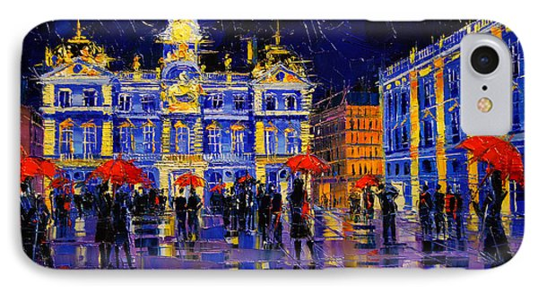 The Festival Of Lights In Lyon France IPhone Case