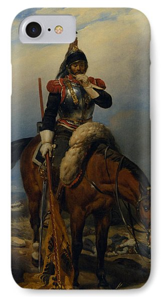 The Field Of Battle Phone Case by Paul  Delaroche