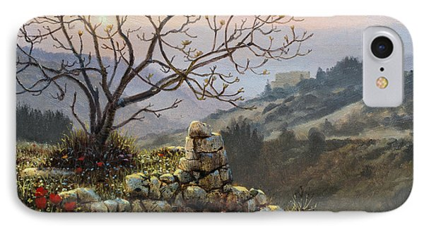The Fig Tree   Mt Carmel IPhone Case