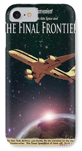The Final Frontier IPhone Case by Juli Scalzi