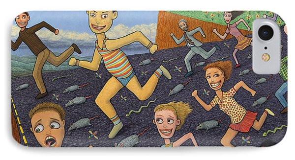 The Finish Line Phone Case by James W Johnson