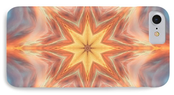 The Fire From Within Mandala IPhone Case