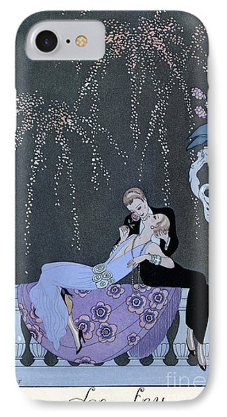 The Fire IPhone Case by Georges Barbier
