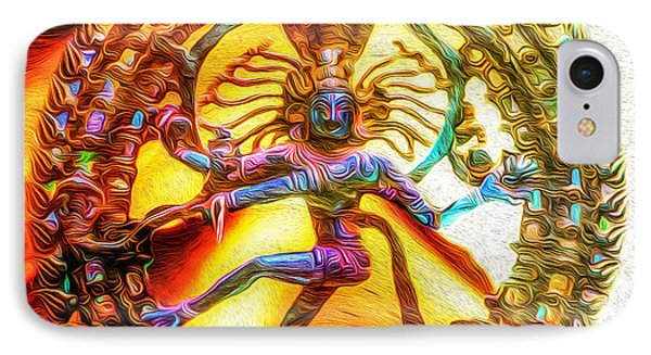 The Fire Of Shiva IPhone Case by Tarik Eltawil